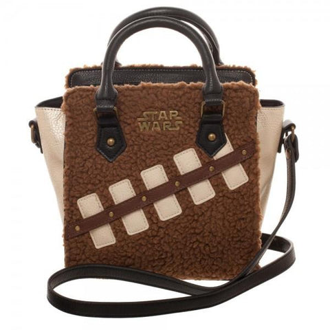 Star Wars Episode 8 Chewie and Porg Mini Brief Handbag - front
