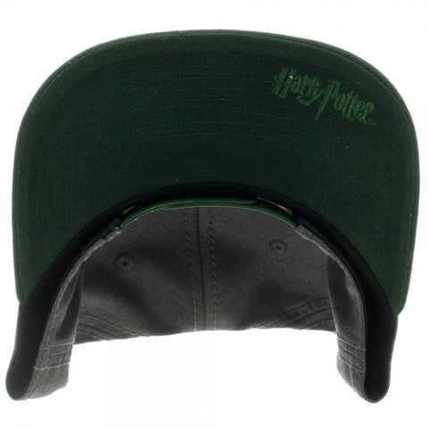 Harry Potter Slytherin Snapback - top