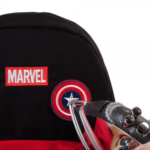 Image of Marvel Deadpool DIY Patch It Backpack-Front Top two