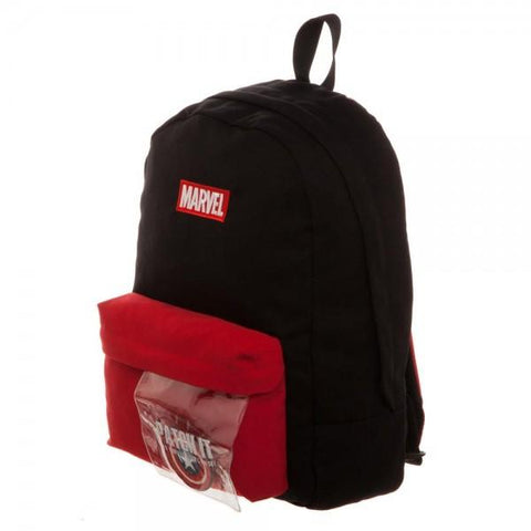 Image of Marvel Deadpool DIY Patch It Backpack-Front Left