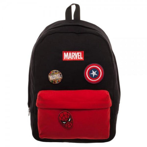 Image of Marvel Deadpool DIY Patch It Backpack-Front Small
