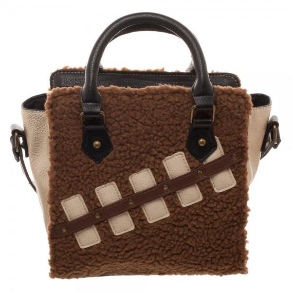 Star Wars Episode 8 Chewie and Porg Mini Brief Handbag - top