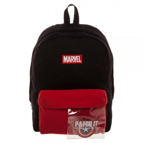 Image of Marvel Deadpool DIY Patch It Backpack-Front