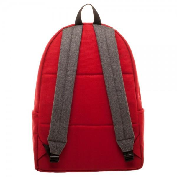 Marvel Deadpool Hidden Quote Backpack- Back