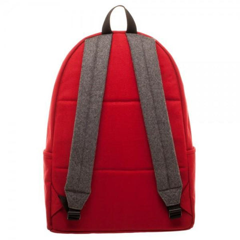 Image of Marvel Deadpool Hidden Quote Backpack- Back