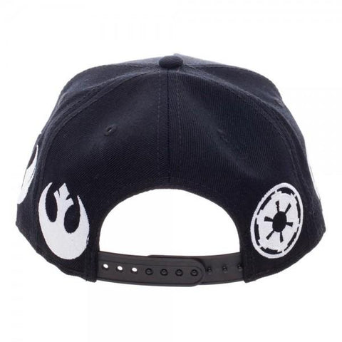 Image of Star Wars Omni Logo Youth Snapback - back