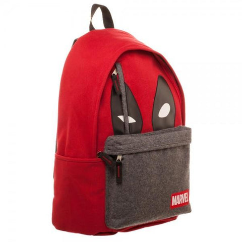 Image of Marvel Deadpool Hidden Quote Backpack-Front Right