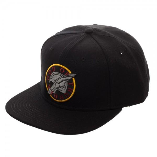 God Of Thunder Black Snapback