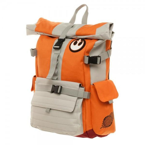 Image of Star Wars Pilot Roll Top Backpack - left