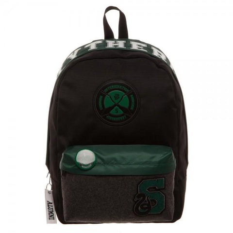Harry Potter Slytherin Backpack - front