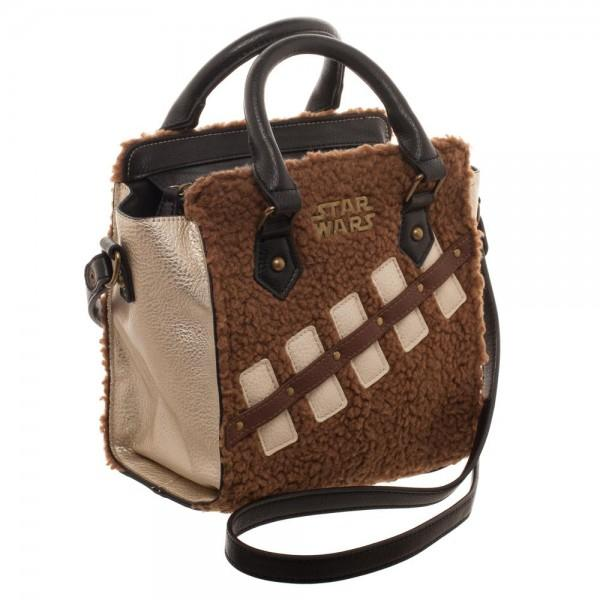 Star Wars Episode 8 Chewie and Porg Mini Brief Handbag - right