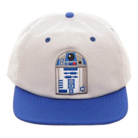 Image of Star Wars R2D2 Oxford Snapback - front