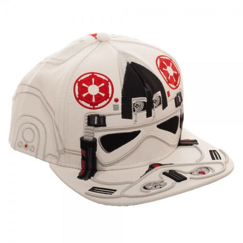 Image of Star Wars AT-AT Driver Big Face Snapback - right
