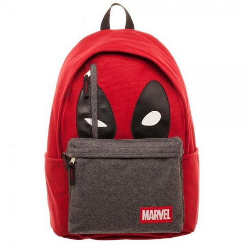 Image of Marvel Deadpool Hidden Quote Backpack-Front