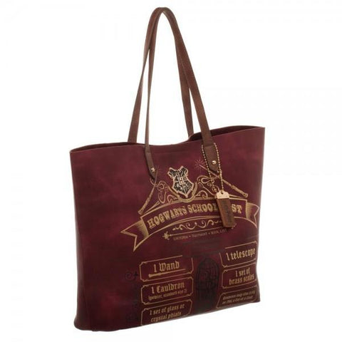 Harry Potter School List Tote - right