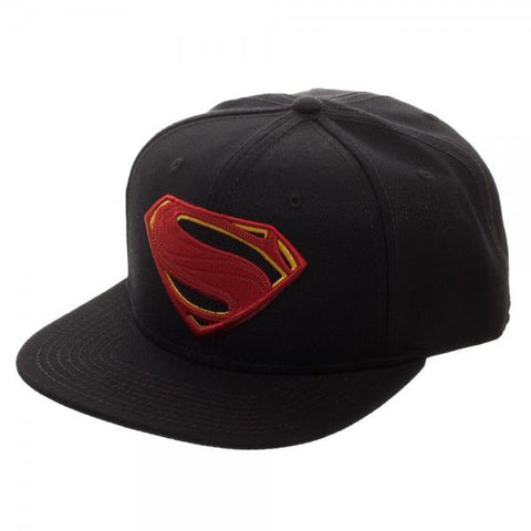 Image of Superman Embroidered Logo Snapback/Cap