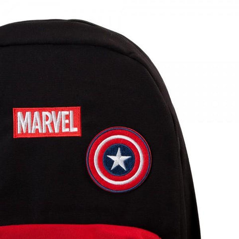 Image of Marvel Deadpool DIY Patch It Backpack-Front Top Left