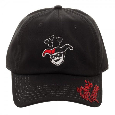 Image of Harley Quinn Adjustable Cap