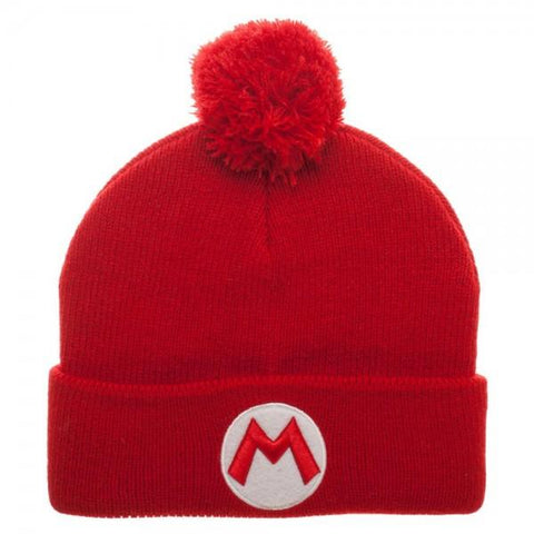 Image of Superman Mario Pom Beanie Cap