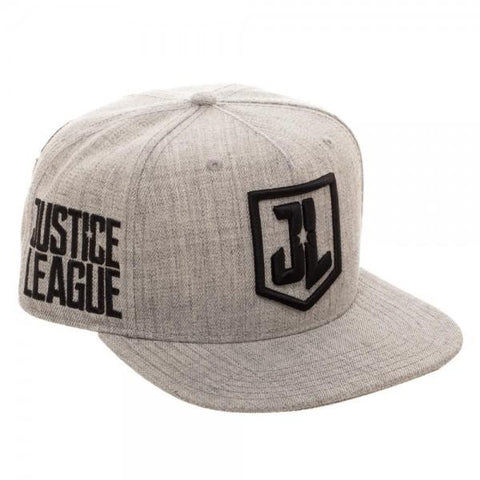 Justice League Embroidered Acrylic Wool Snapback - right