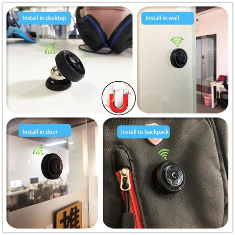 Image of SMART 1080P MINI CAMERA - phone camera