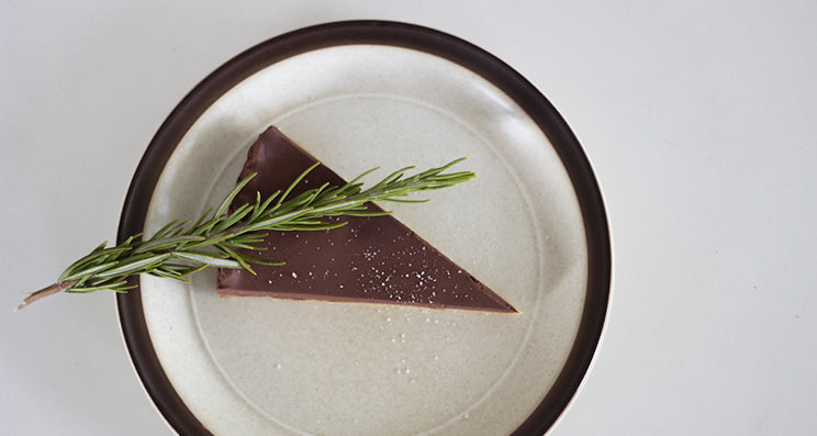 Salted Rosemary & Chocolate Tart