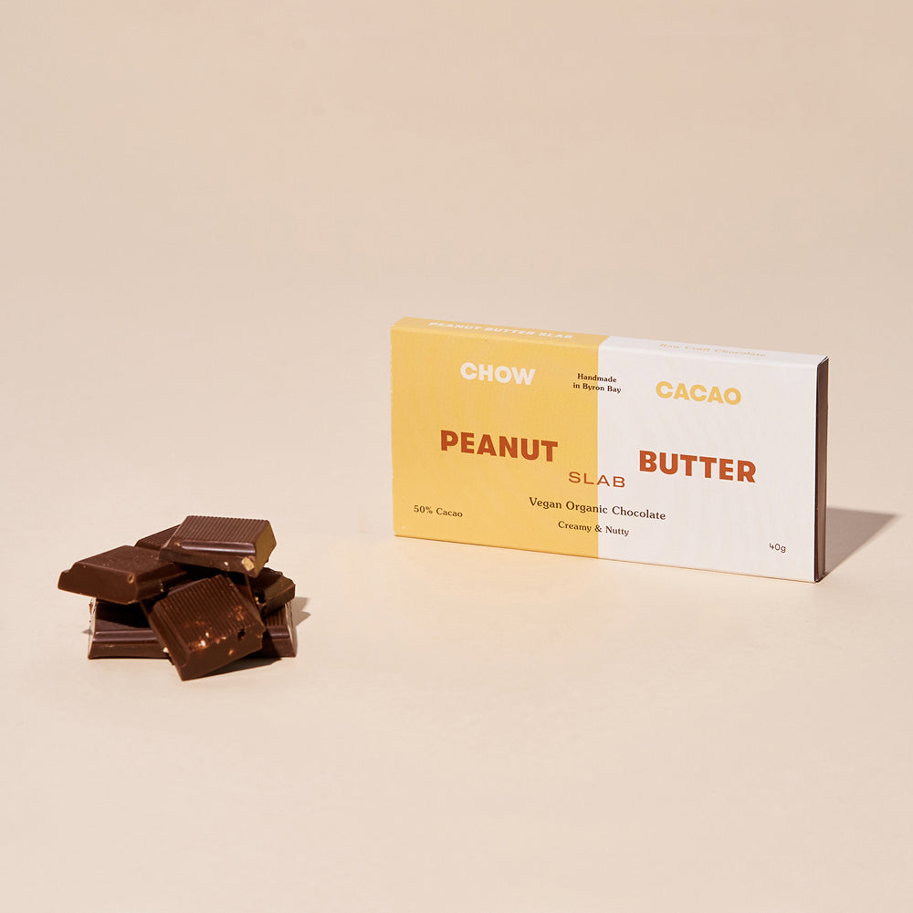Peanut Butter Slab - Chow Cacao