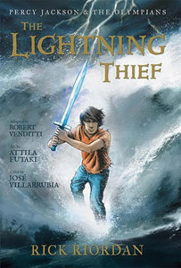 Percy Jackson  &  The Olympians #1 Ligtening Thief by Riordan