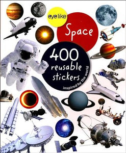Eyelike: Space 400 Reusable Stickers