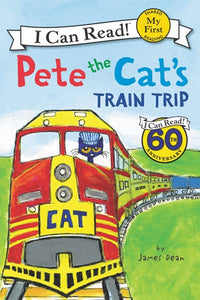 Pete the Cat's Train Trip by Dean