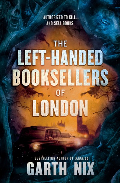 The Left-Handed Booksellers of London by Nix