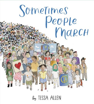 Sometimes People March by Allen