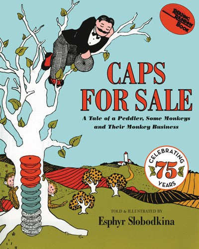 Caps For Sale by Slobodkina PB