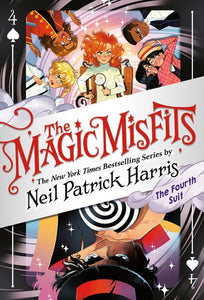 The Magic Misfits (#4) The Fourth Suit by Harris