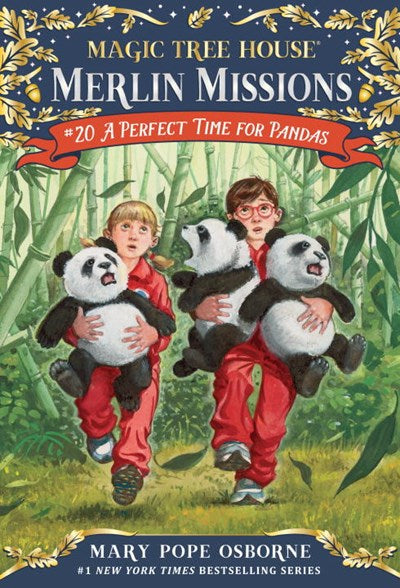 Magic Tree House Merlin Missions (#20) A Perfect Time for Pandas by Osborne