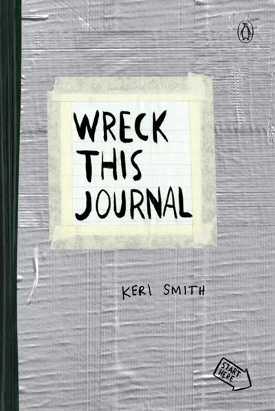 Wreck this Journal Silver