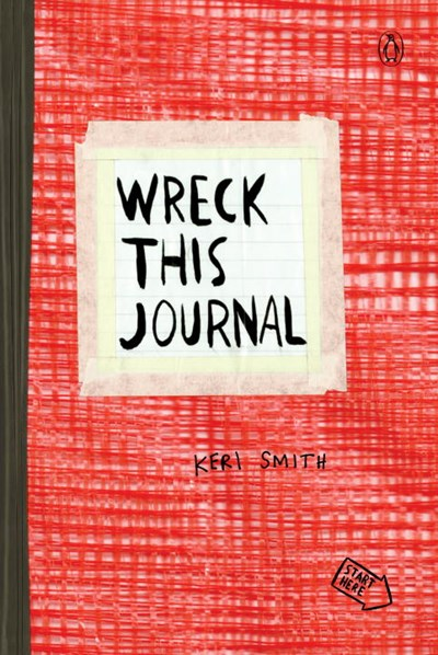 Wreck This Journal-Red