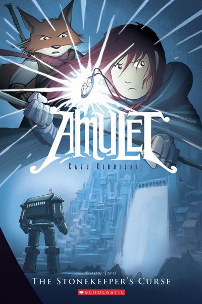 Amulet: The Stonekeeper's Curse by Kibuishi (#2)
