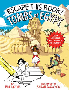 Escape This Book Tombs of Egypt by Doyle