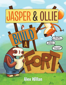 Jasper & Ollie Build A Fort by Willan