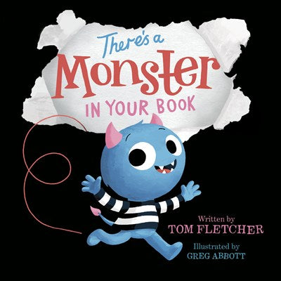 There's A Monster In Your Book by Fletcher BRD