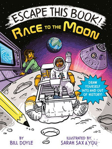 Escape This Book Race to the Moon by Doyle
