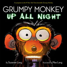 Grumpy Monkey Up All Night by Lang