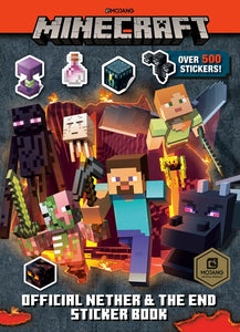 Minecraft Official Nether and the End Sticker Book