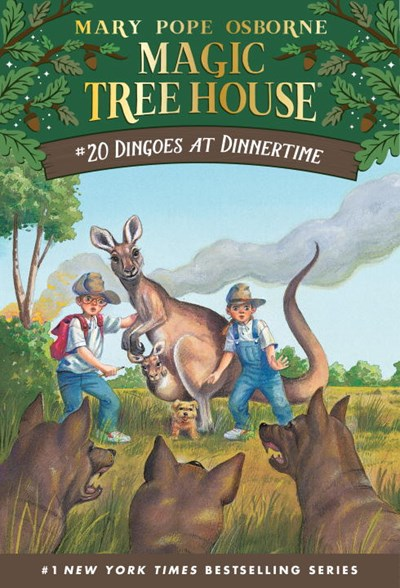 Magic Tree House (#20) Dingoes at Dinner Time by Osborne
