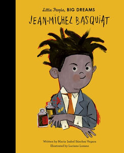 Little People Big Dreams Jean-Michel Basquiat by Vegara