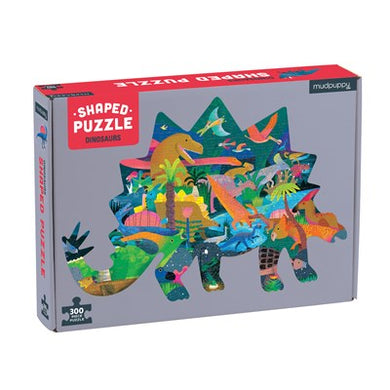 300 Piece Dinosaur Shaped Puzzle