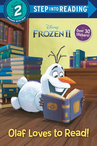Frozen II Olaf Learns to Read!