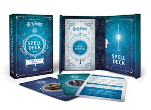 Harry Potter Spell Deck and Interactive Book