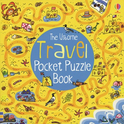 Travel Pocket Puzzle Book